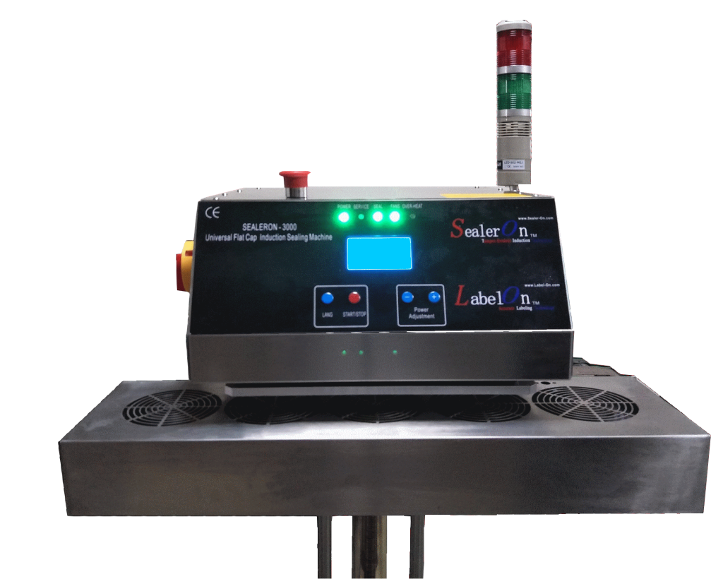 SealerOn3000 Induction Machine